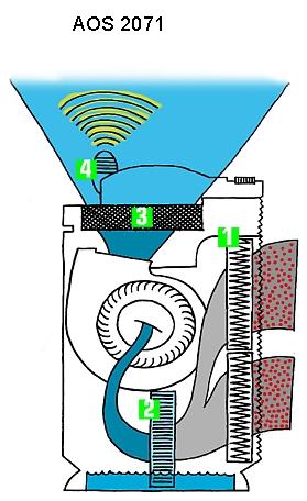 kombinált párásító légtisztító hepa-szűrős