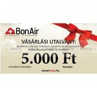 BonAir X009 Vásárlási utalvány 5 000Ft