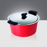 KUHN RIKON KR 30760 HOT PAN hőszigetelő tálak, színes, salátástálak 5