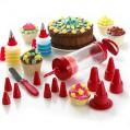 Dekor szett, sütemény, torta díszítő szett